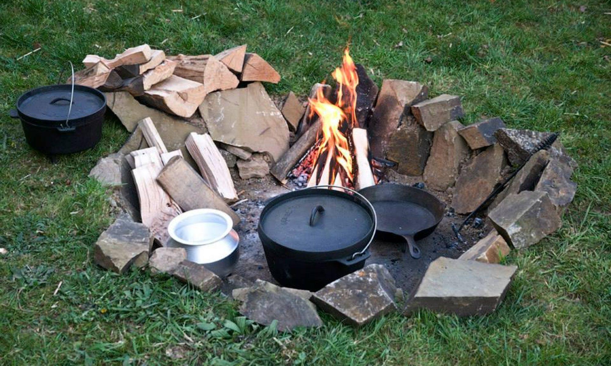 Die Lagerfeuer Kochschule