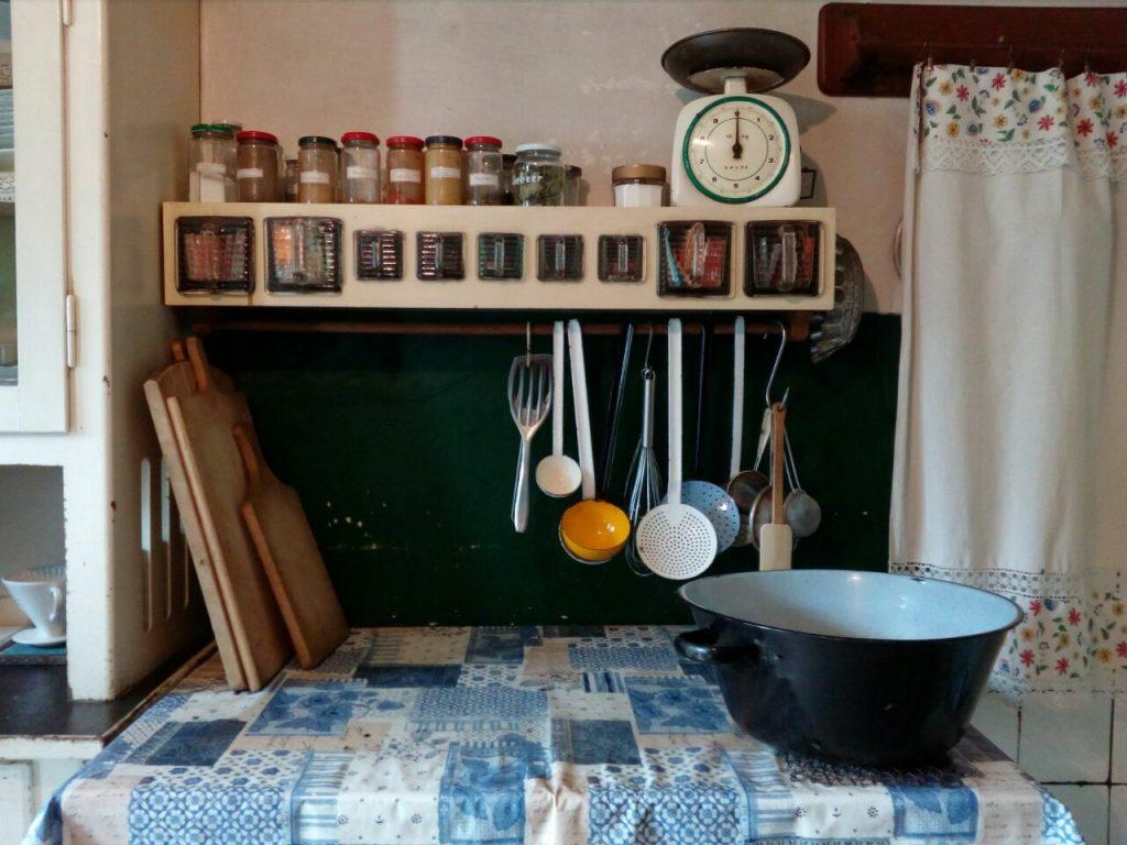 Küche im Freilichtmuseum Lindlar