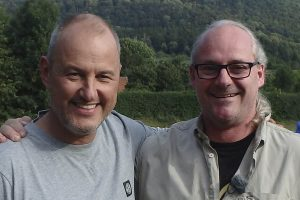 Rolf Iven mit Frank Rosin