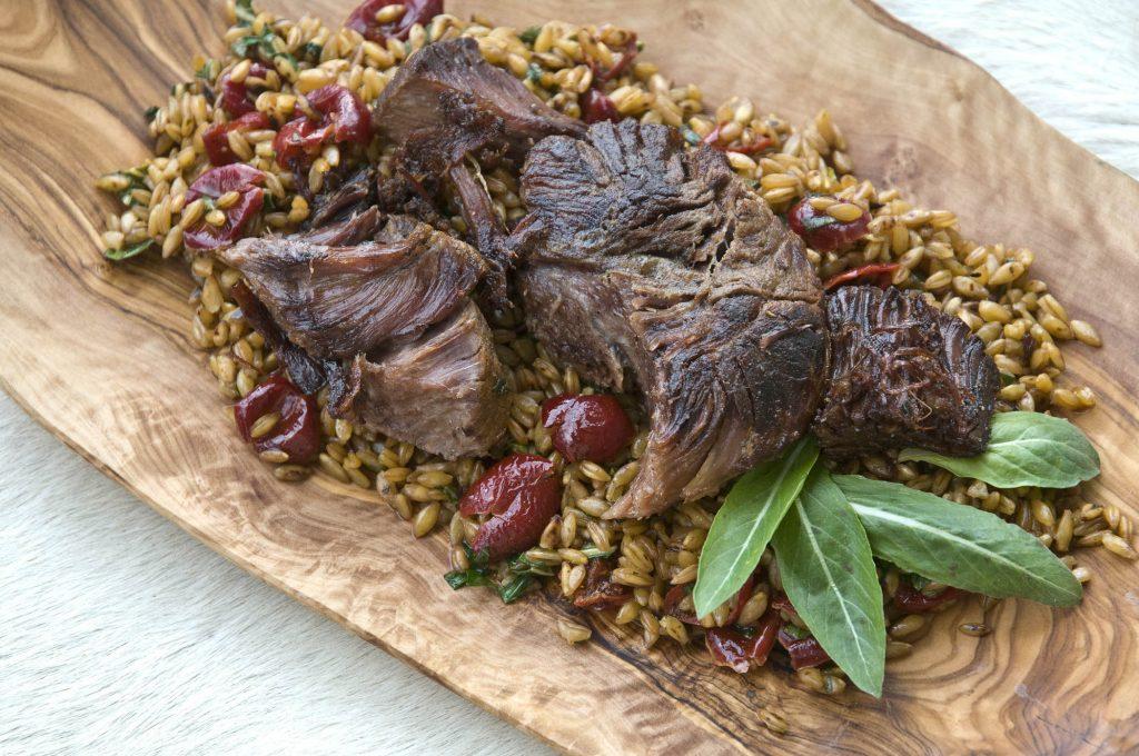 Kulinarische Homage an Ötzis letzte Mahlzeit